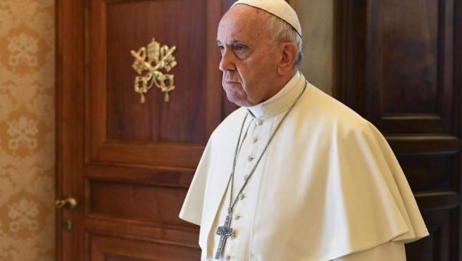 El papa Francisco, durante una audiencia en el Vaticano.