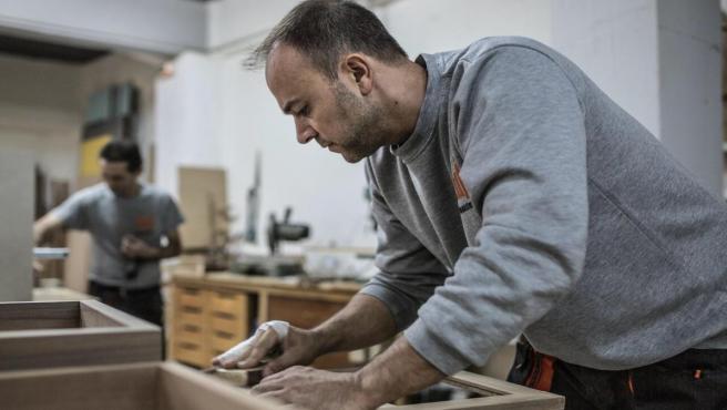 Trabajador, trabajar, fábrica