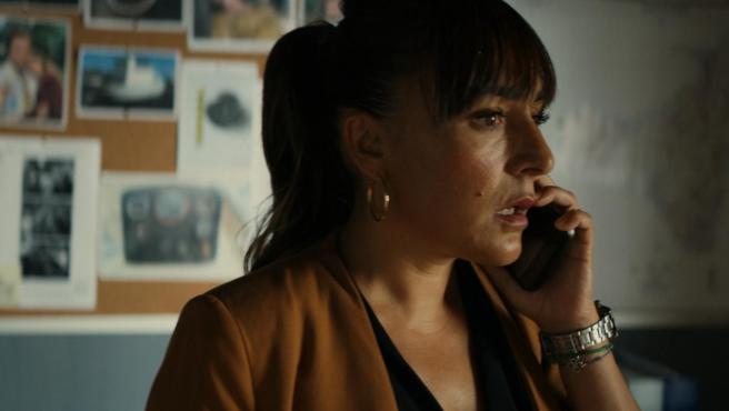 Candela Peña, en la serie 'Hierro'.