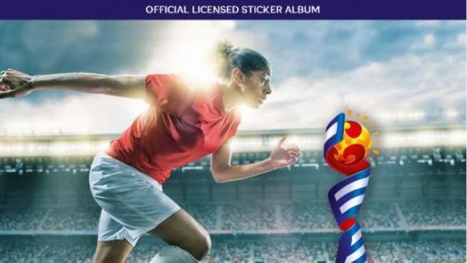 Portada de la colección de cromos del Mundial de fútbol femenino 2019