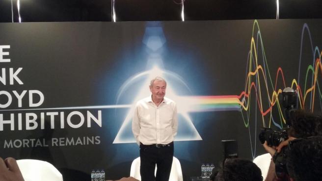 Nick Mason presenta en Madrid 'The Pink Floyd Exhibition':