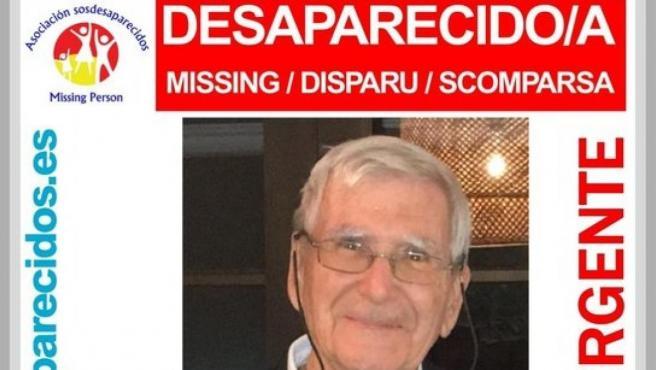 Imagen de Jean Louis, de 82 años, desaparecido y encontrado.