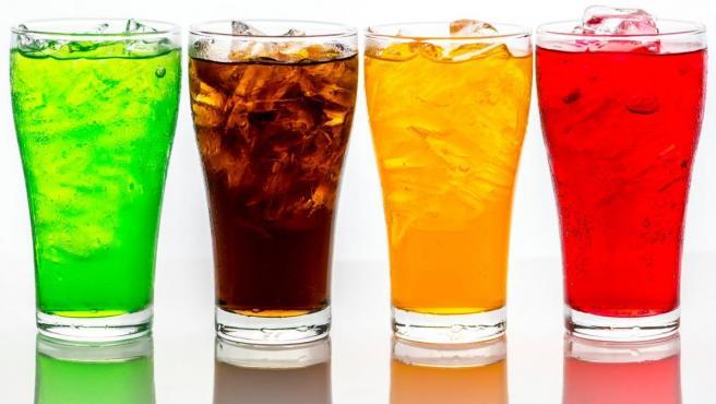 Bebidas gaseosas, en una imagen de archivo.