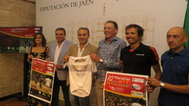 Presentación de la X Maratón BTT Sierra de Cazorla