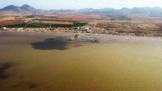 Imagen de la zona del Mar Menor del grupo parlamentario Podemos