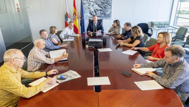 El consejero de Desarrollo Rural, Ganadería, Pesca, Alimentación y Medio Ambiente, Guillermo Blanco