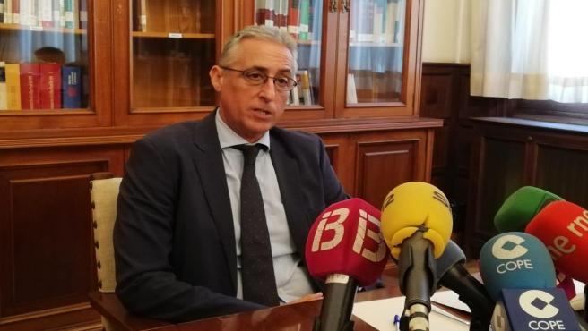 El presidente de la Audiencia Provincial de Baleares, Diego Gómez-Reino.