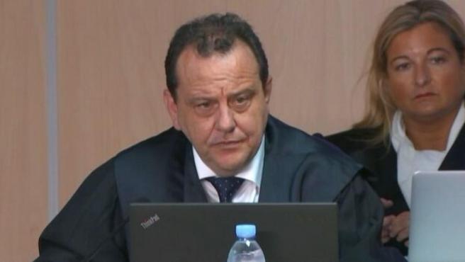 Pedro Horrach y López Negrete, en el juicio de Nóos