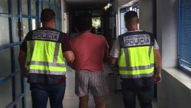 Detención por parte de la Policía Nacional en Marbella