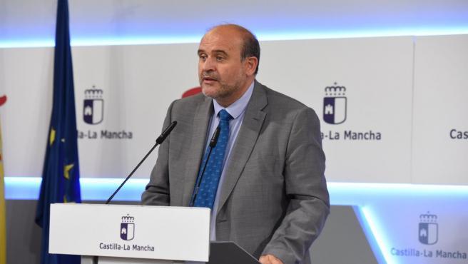 El vicepresidente de C-LM, José Luis Martínez Guijarro