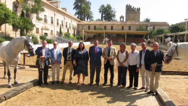 Presentación de las actividades de la Feria Internacional del Caballo.