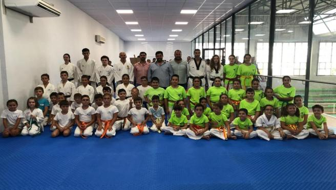 Nueva sala para artes marciales en Lora