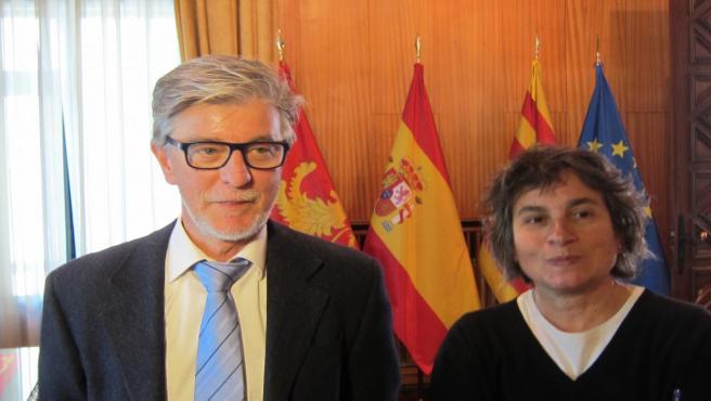 Pedro Santisteve y Luisa Broto, de ZeC