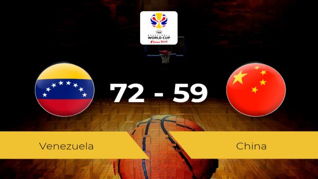 Venezuela 72 - 59 China