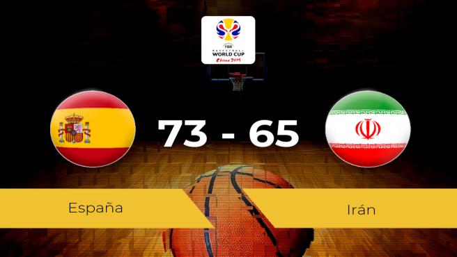 España 73 - 65 Irán