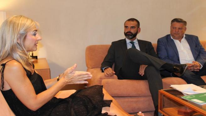 La consejera de Cultura se reúne con el alcalde de Almería