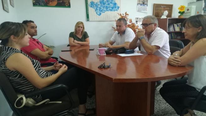 Encuentro con emprendedores turísticos en el CADE de Laujar