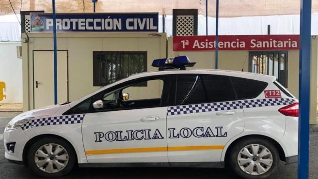 Vehículo de la Policía Local de Arahal