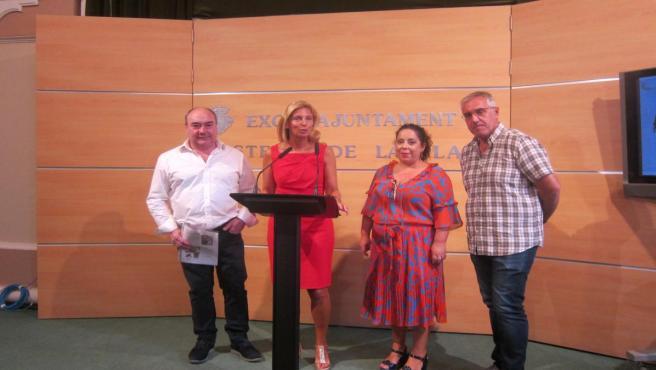 Presentación del programa para celebrar el 768 aniversario de la ciudad