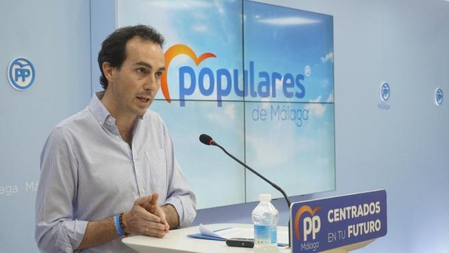 Miguel Ángel Ruiz portavoz de Educación del PP en el Parlamento Andaluz parlamentario popular
