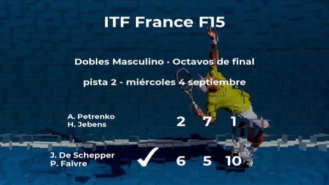 De Schepper y Faivre consiguen su plaza en los cuartos de final del torneo de Bagneres-De-Bigorre