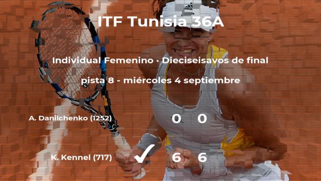 La tenista Karin Kennel pasa a la próxima ronda del torneo de Tabarka tras vencer en los dieciseisavos de final