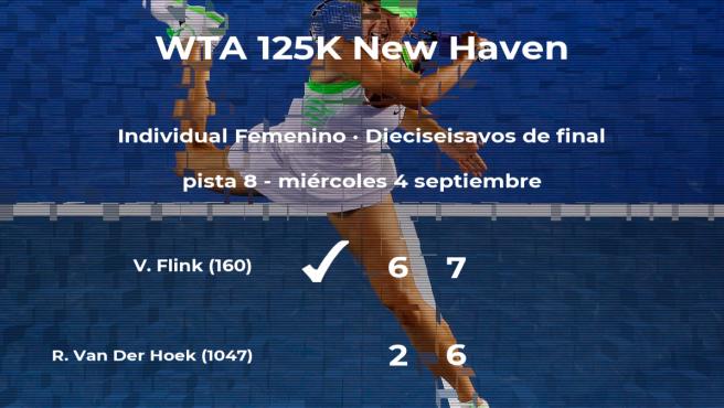 La tenista Varvara Flink, clasificada para los octavos de final del torneo de New Haven