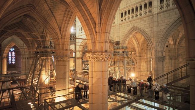 La Catedral Santa María de Vitoria, candidata al premio Patrimonio Arqueológico Europeo 2019