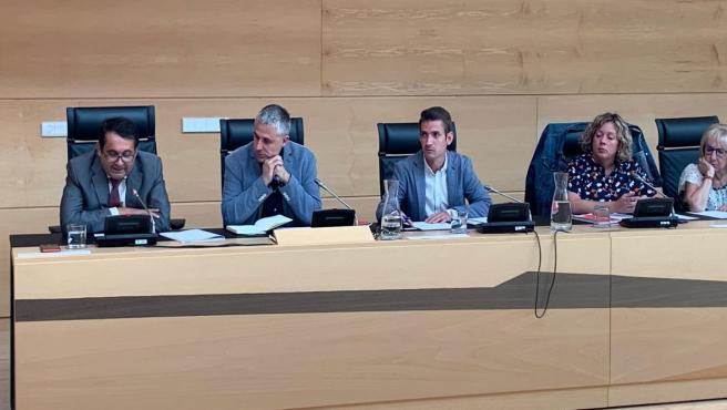 Miembros del Grupo Parlamentario Socialista en la Comisión de Agricultura.