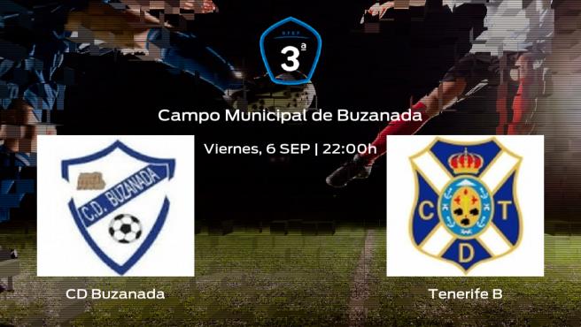 Previa del partido de la jornada 3: Buzanada contra Tenerife B