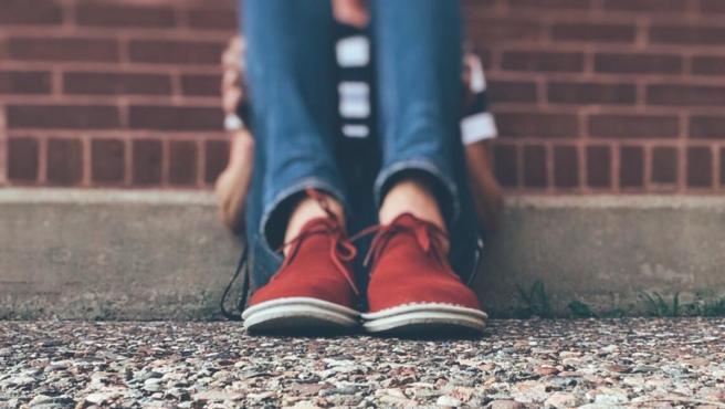 Representación del acoso escolar o bullying.