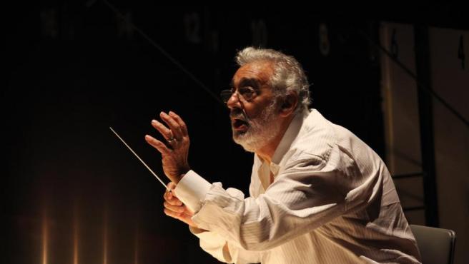 Plácido Domingo en 'Carmen' en la Ópera de Los Ángeles.