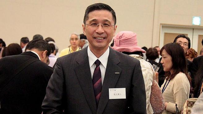 El presidente y CEO de Nissan Motor, Hiroto Saikawa, en Yokohama (Japón), en 2014.