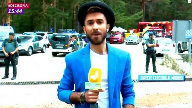 Sergio Silva en 'Cazamariposas'.