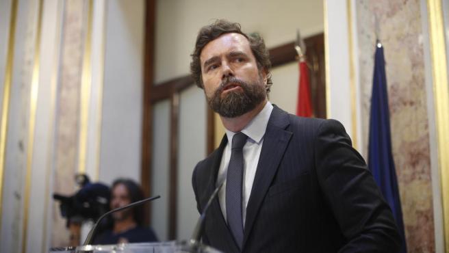 Imagen recurso del portavoz de Vox en el Congreso de los Diputados, Iván Espinosa de los Monteros.