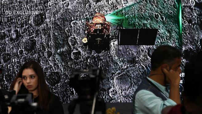 La Organización de Investigación Espacial de la India (ISRO) perdió contacto con el módulo espacial indio Chandrayaan-2.