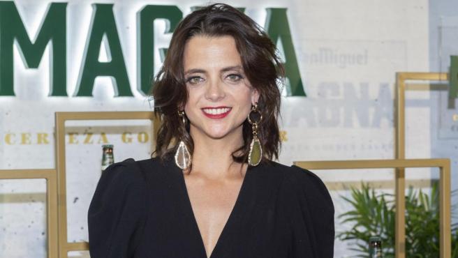 La actriz Macarena Gómez, en un evento publicitario.
