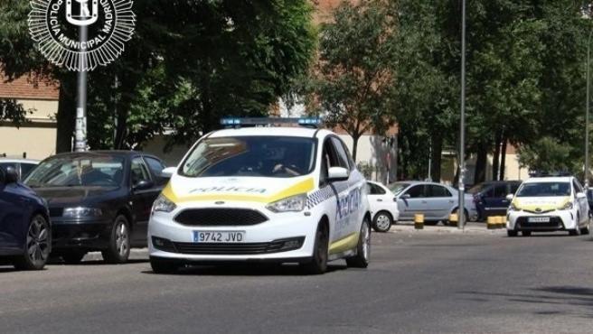 Imagen de un coche de Policía Municipal de Madrid.