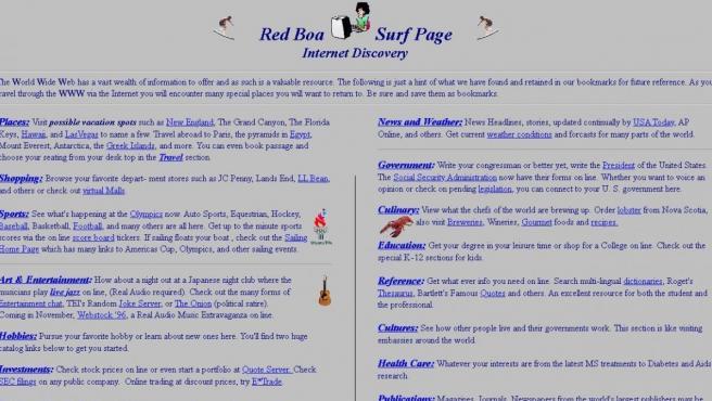 Esta web que agrupa direcciones en internet lleva 22 años sin ser actualizada.