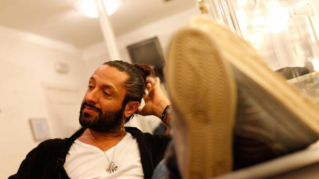 Rafael Amargo durante una entrevista para 20minutos.