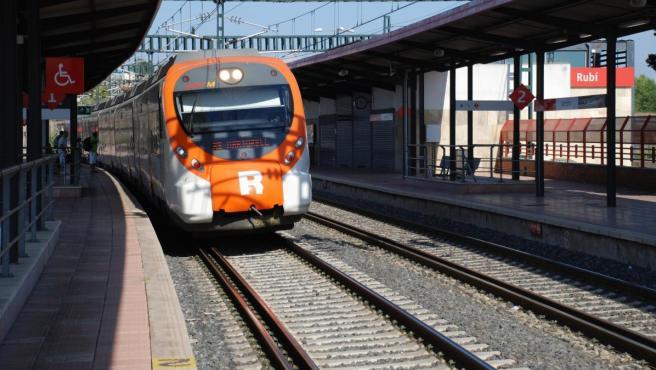 Un tren de Rodalies, en una foto de archivo.