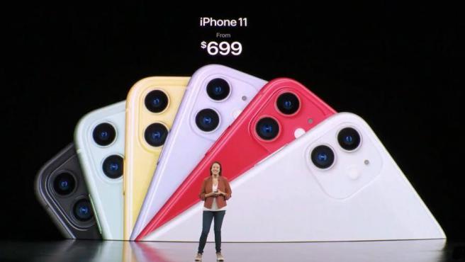 Precio del iPhone 11.
