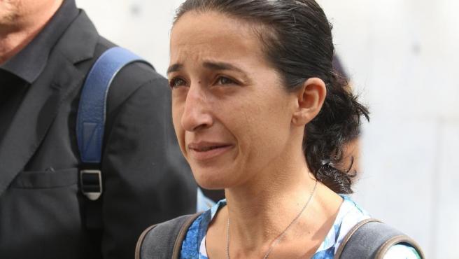 Patricia Ramírez, madre del niño Gabriel Cruz.