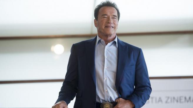 El actor estadounidense de origen austríaco Arnold Schwarzenegger, en una imagen de archivo.