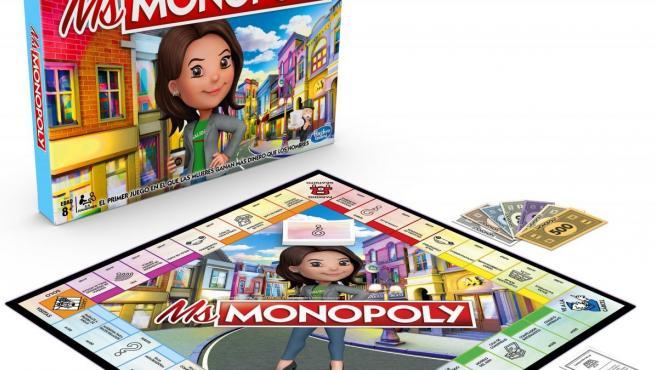Caja del juego Ms. Monopoly.