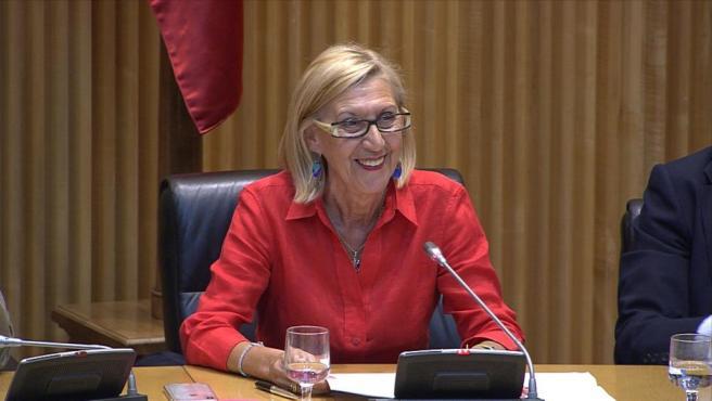 """Rosa Díez echa """"en falta"""" el Congreso de los Diputados"""