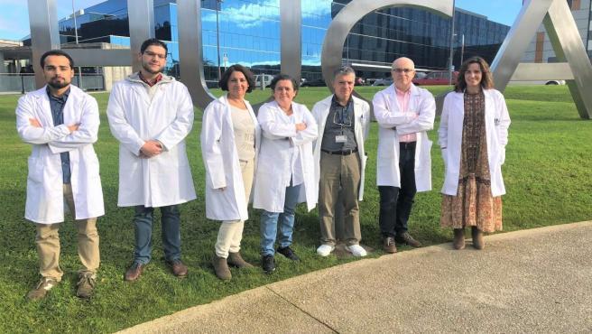 Personal investigador que ha iniciado una campaña de crowdfunding para financiar una investigación sobre detección precoz de infecciones en bebés mediante nanotecnología.