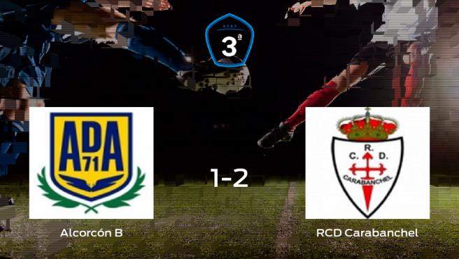El RCarabanchel gana 1-2 en el feudo del Alcorcón B
