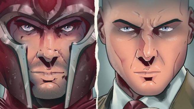 [RUMOR] ¿Quiere Marvel cambiar la raza de Xavier y Magneto en su reboot de 'X-Men'?