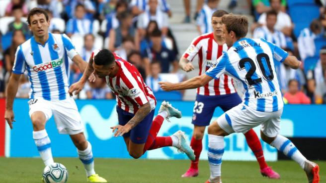 Real Sociedad vs Atlético de Madrid.